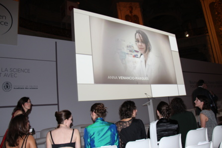"Anna received the ""For Women in Science"" fellowship from L'Oreal Foundation"