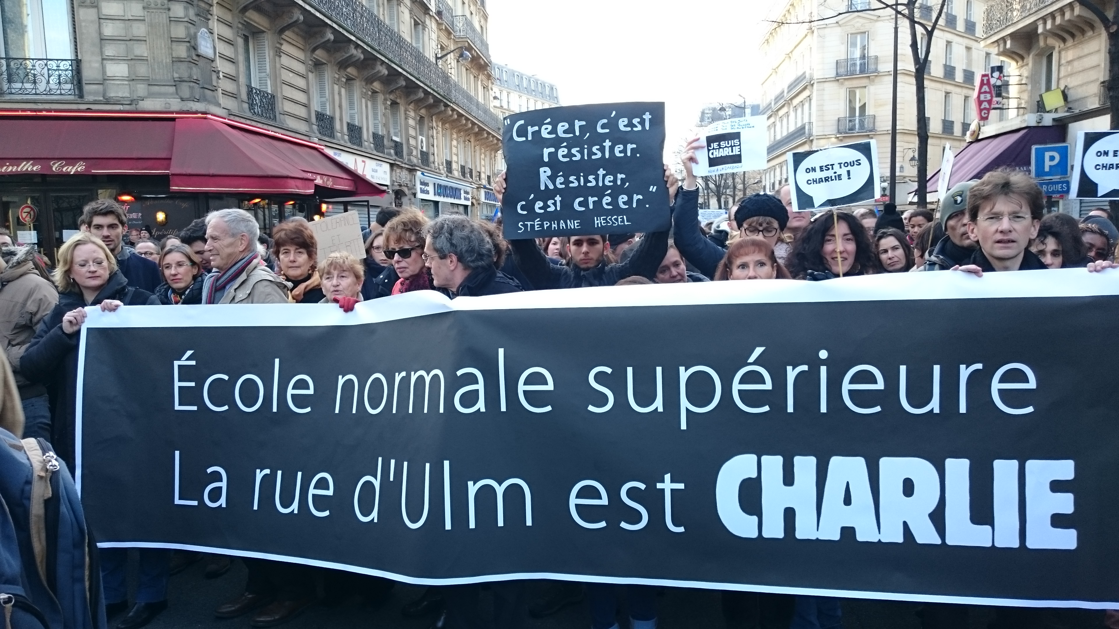 We are Charlie!