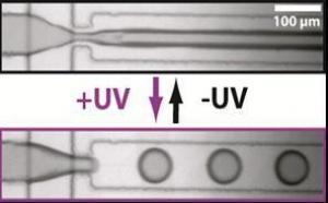 Light for microdrops: Antoine's paper highlighted in CNRS website