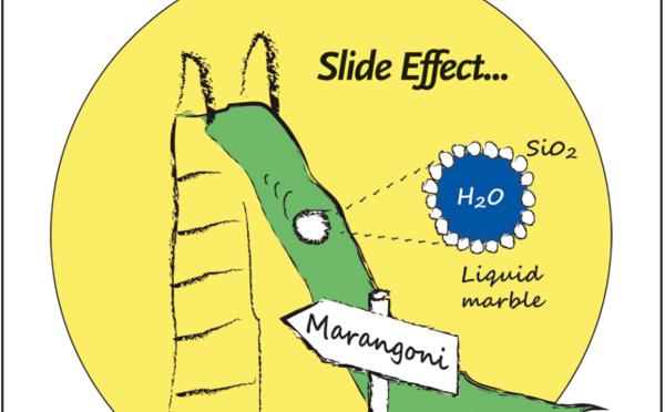 The Slide Effect hits Angewandte Cover!
