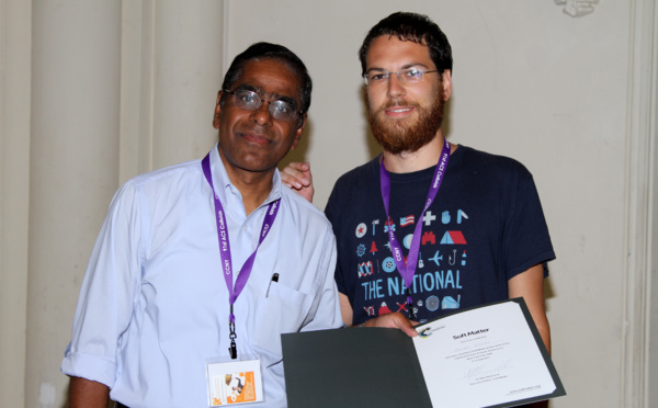 Soft Matter poster prize at the ACS Colloid & Surface Science Symposium